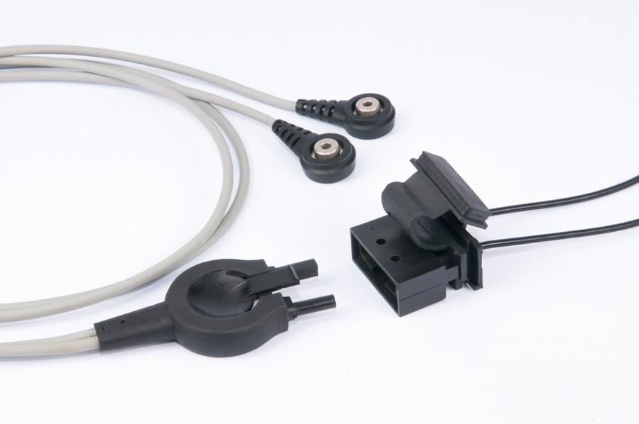 Cablagem p/ ligação a desfibriladores Portáteis