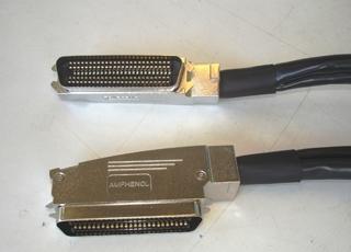 Cablagem ligação p/ equipamento com E/S 100 sinais