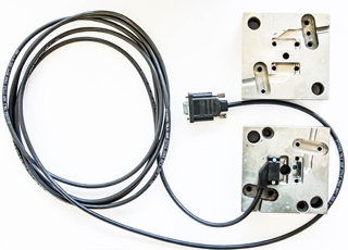 Moldes de Sobre moldagem de conectores 180 e 90  graus