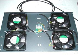 Integração em equipamento ventilação para Racks Informaticas e outras